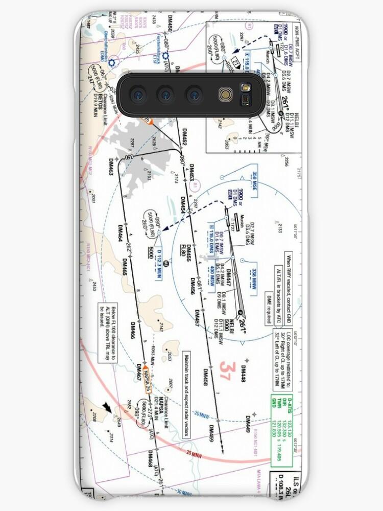 Munchen Eddm Ils 26l Approach Plate Case Skin For Samsung