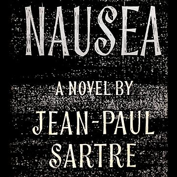 Nausea Jean Paul Sartre First Edition Cover by buythebook86