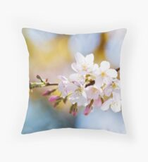 I go to nature to be soothed and healed, and to have my senses put in order... Throw Pillow