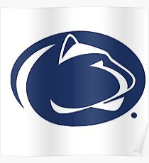 Nittany Lions of Penn State Poster