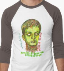 Zombie Curtis Men's Baseball ¾ T-Shirt