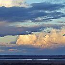 Mine dumps at  dusk,Kalgoorlie. West Australia by robynart