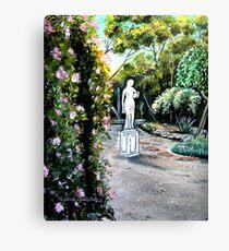 Garden View, Blue Mountains Canvas Print