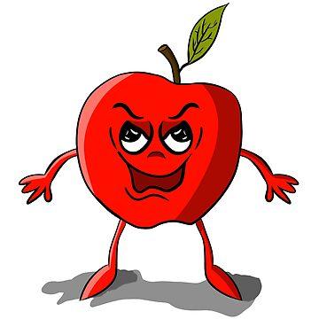 Red apple by Melcu