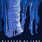"""H.P. Lovecraft Travel Poster: Leng (""""At the Mountains of Madness"""") by futurilla"""