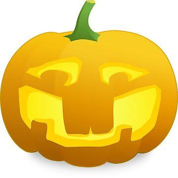 Halloween Laughing Pumpkin by MartinV96