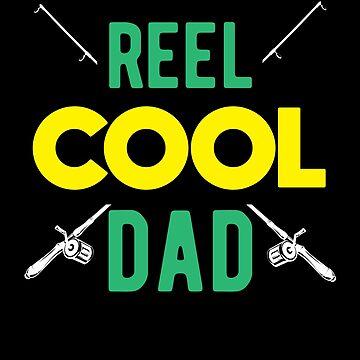 Reel Cool Dad Fishing Lover Fisherman Equipment Shirt by allsortsmarket
