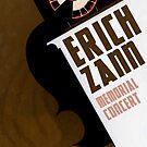 "H.P. Lovecraft Travel Poster: Erich Zann (""The Music of Erich Zann"") by futurilla"