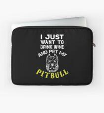 Pet My Pitbull Laptop Sleeve