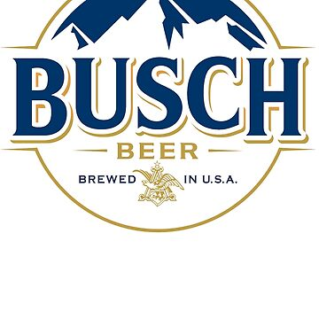 Busch BEER Logo Funny T-Shirt by danny911