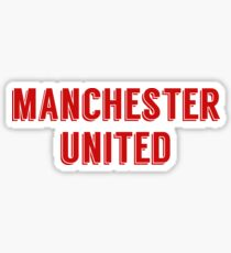 Manchester United FC Sticker