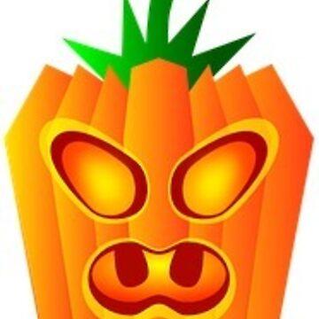 Halloween Angry Pumpkin by MartinV96