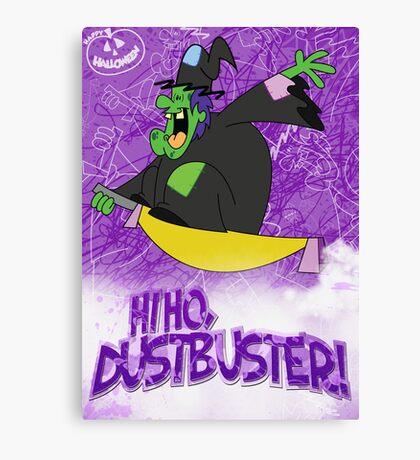 Halloween Poster 2009 - Hi Ho Dustbuster Canvas Print