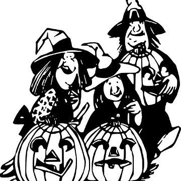 Halloween Witch Pumpkin by MartinV96