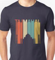 Vintage Retro Taj Mahal Unisex T-Shirt