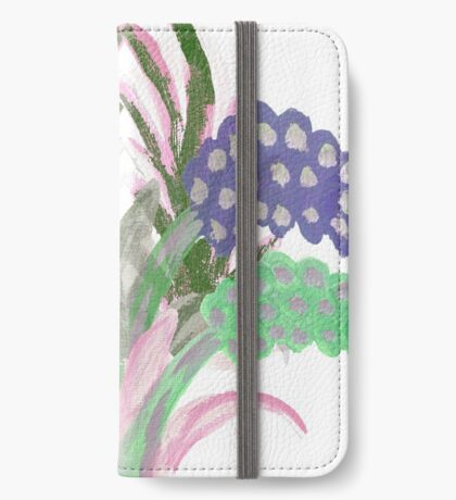 Floral Fantasy iPhone Wallet