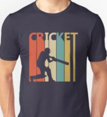 Vintage Retro Cricket Unisex T-Shirt