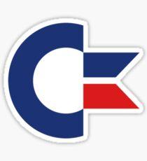 commodore logo Sticker