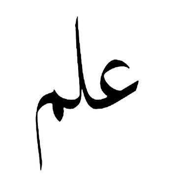 Ilm [Knowledge] Arabic text by Paradisessntl