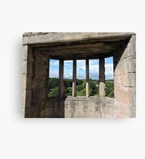 Barnard Castle's Window Canvas Print