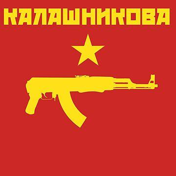AK47 Kalashnikov by Elkin