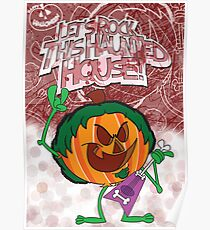 Halloween Poster 2009 - Lets Rock This Haunted House Poster