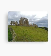 Egglestone Abbey Canvas Print