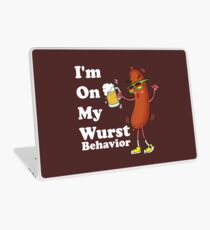 I'm On My Wrust Behavior Bratwurst Oktoberfest  Laptop Skin