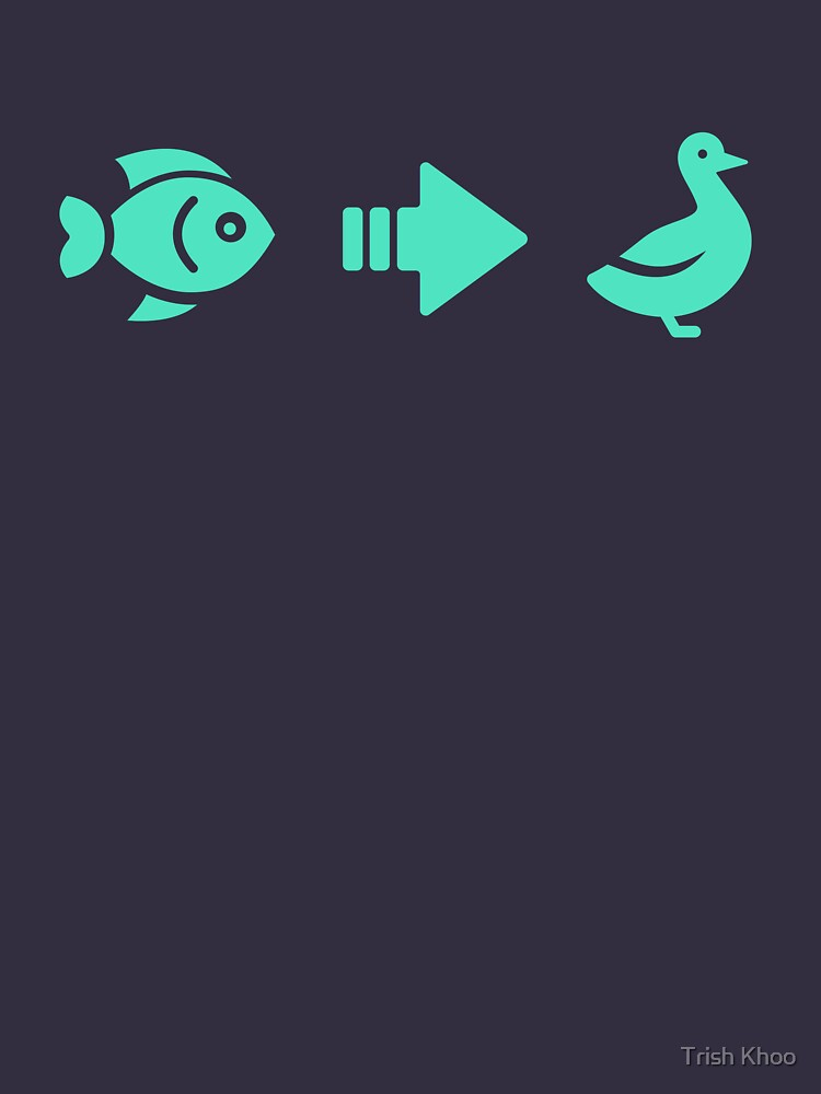 Fish to Duck icons by hogfish