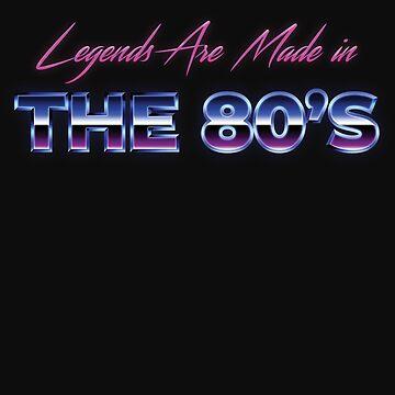 Retro 80s Millenial Shirt Born in 1980s Vintage Birthday Gift by normaltshirts