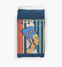 Vintage Retro Nefertiti Duvet Cover
