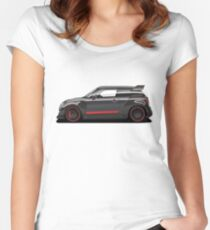 Mini JCW GP concept Women's Fitted Scoop T-Shirt