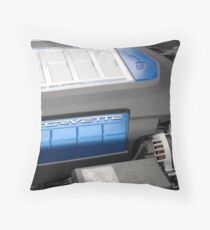 ZR-1 Power Plant Throw Pillow
