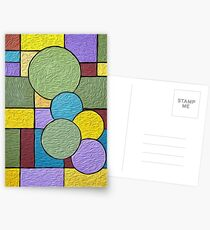 Abstract Composition Summer Nature Postcards