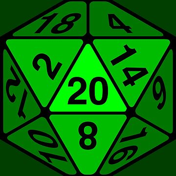 Critical Roll Green by heathendesigns