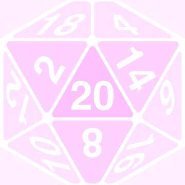 Critical Roll Pink by heathendesigns