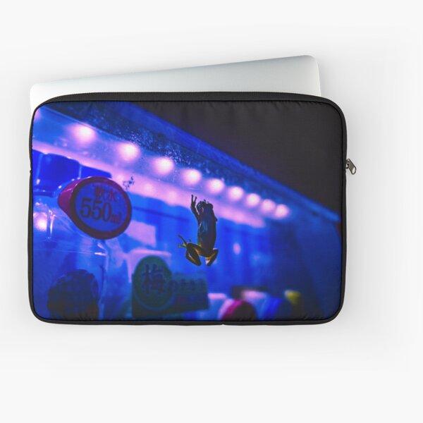 Neon Life - Frog - Vending machine Laptop Sleeve
