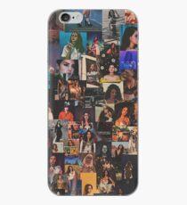 lana del rey - grainy collage iPhone Case