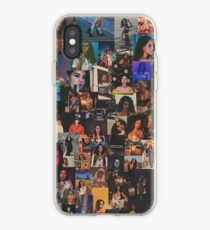 lana del rey - grainy collage iPhone Case