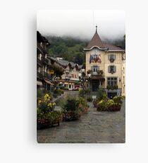 St Gervais-les-Bains Canvas Print