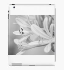 Classic BW ; flowers iPad Case/Skin