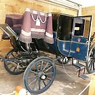 Horse drawn Coach 1800s by Woodie