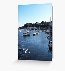 Porthmadog Harbour Greeting Card