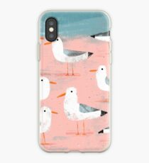 Seagulls on the Shore iPhone Case