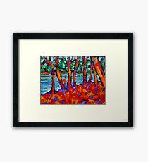 Red River Gums Framed Print