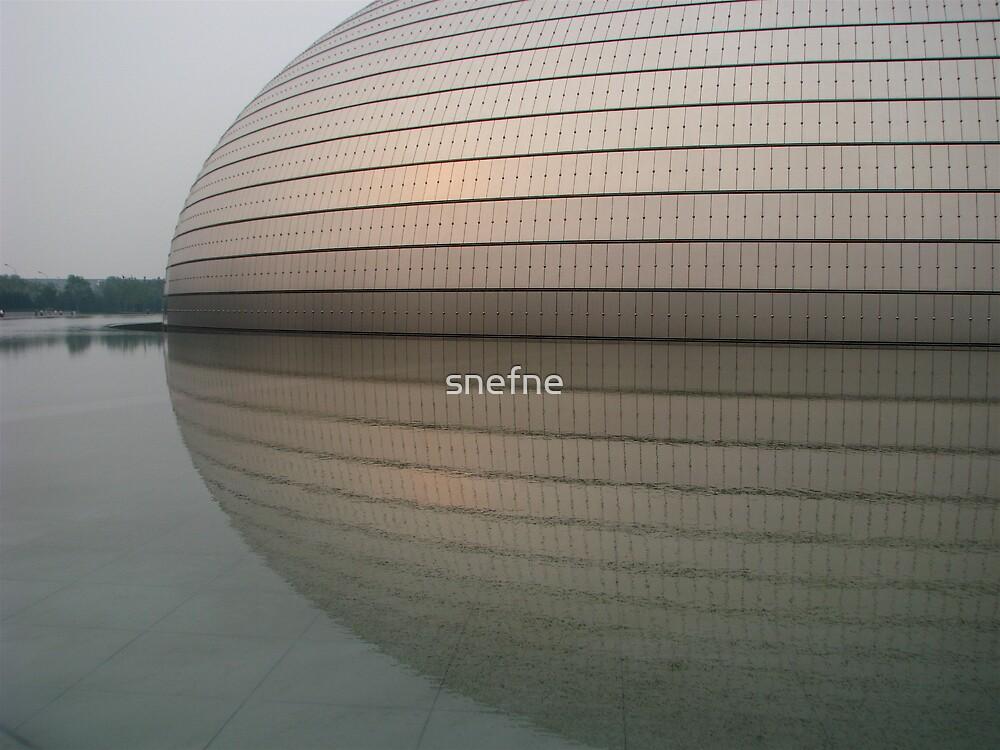 Beijing Grand National Theatre by snefne