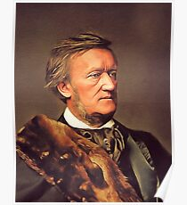 Richard Wagner, Famous Composer Poster