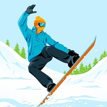Snowboarder  by lents