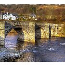 Carrog Bridge Corwen by Kelvin Hughes