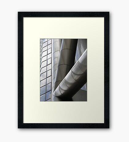 Tubular Framed Print